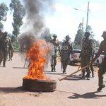 Protesting Kisii residents demand sacking of CS Matiang'i