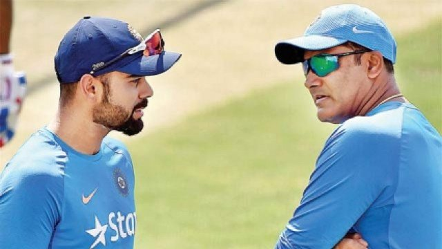 What a shame : Fans slam Virat Kohli after skipper doesn t wish former coach Anil Kumble a