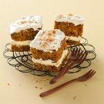 Carrot cake et son glaçage