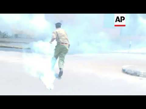Police make arrests, fire tear gas, during Mombasa protest