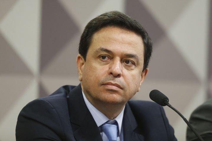 @BroadcastImagem: Francisco de Assis e Silva, diretor jurídico do grupo J&F, fala à CPMI da JBS, em Brasília. Dida Sampaio/Estadão