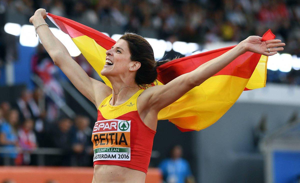 La atleta española Beitia, campeona olímpica, anuncia su retirada