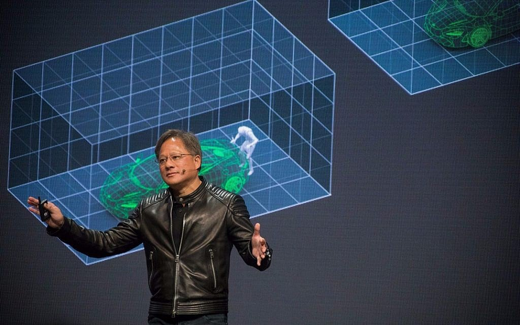 Nvidia chief sees advent of robot taxis as soon as 2020