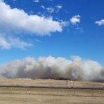 High winds, fires wreak havoc in Alberta