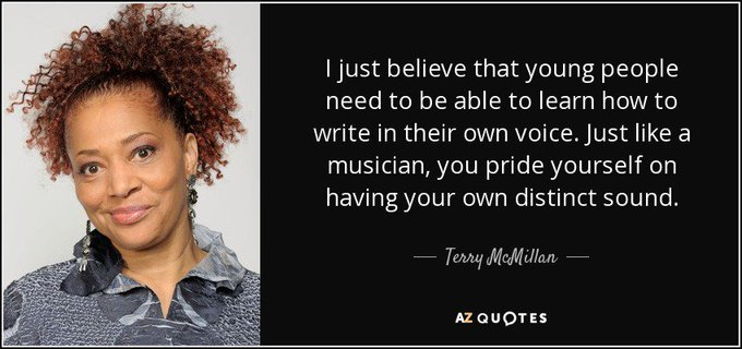 Happy Birthday to author Terry McMillan!