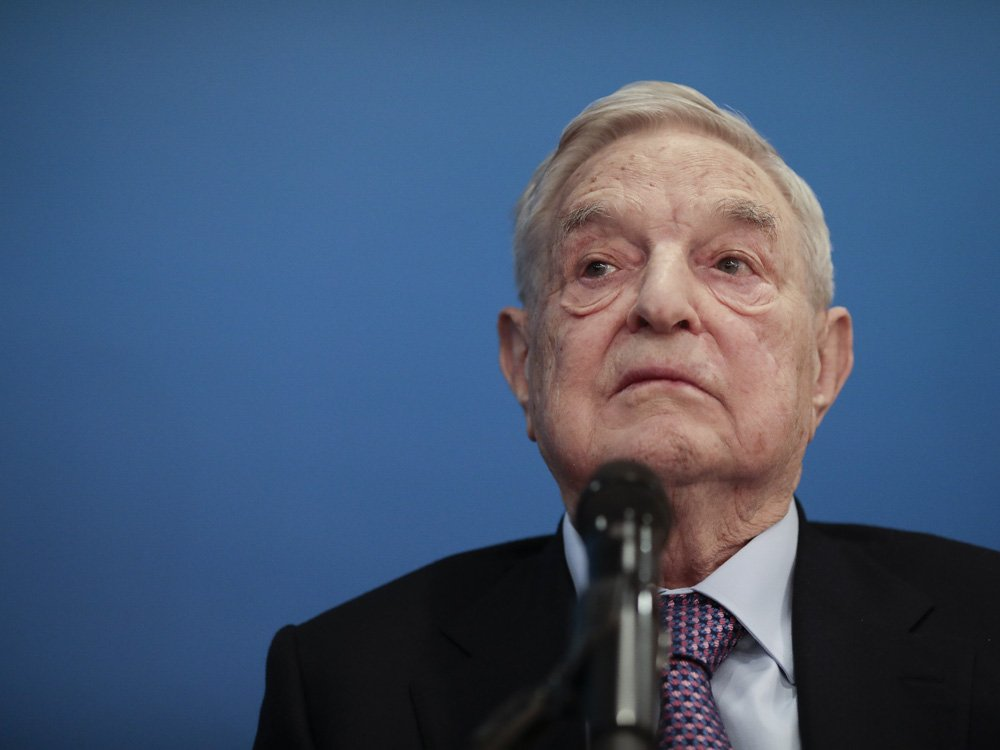 George Soros makes one of the largest transfers of personal wealth ever by a private donor