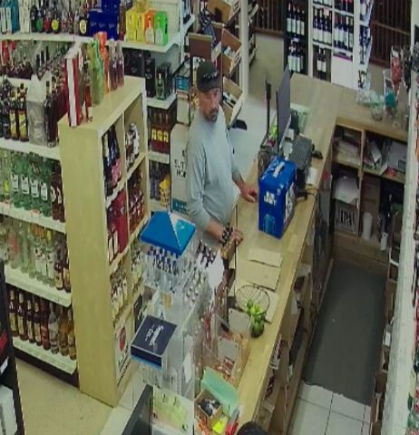 Man wanted for using stolen credit card at Somers liquor store