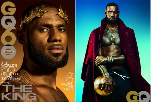 LeBron James named GQ's 'Greatest Living Athlete'