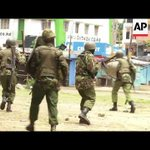 Kenyan police say they shot and killed two opposition protesters