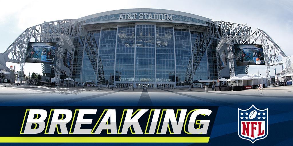 Dallas selected to host the 2018 #NFLDraft: https://t.co/MS6f9BHU1v (via @RapSheet) https://t.co/dhDrQ7Zgqo
