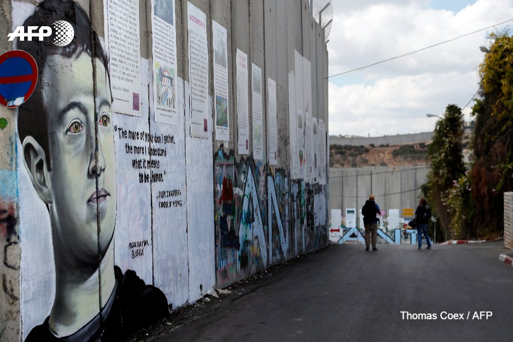 If Graffiti On The West Bank Separation Wall Isnt About The Israeli Palestinian