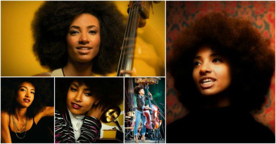 Happy Birthday to Esperanza Spalding (born October 18, 1984)