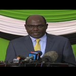 Kenya's IEBC chair will only oversee election if candidates agree to meet with him