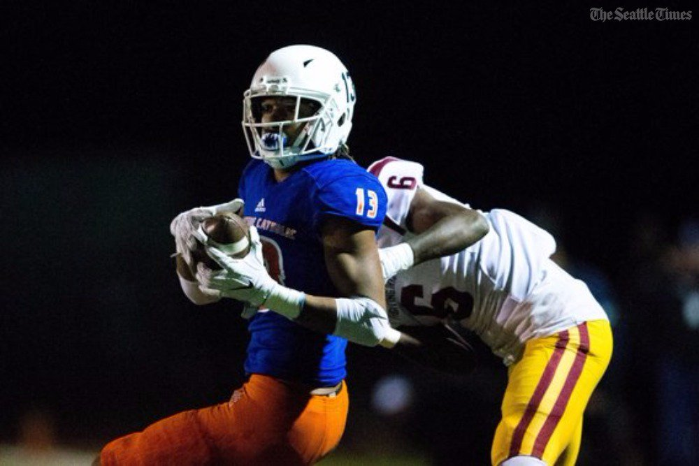 test Twitter Media - Eastside Catholic the unanimous Class 3A No. 1 in The Associated Press state football poll.  https://t.co/MLOqyuGUJV https://t.co/FY4uvghlOc