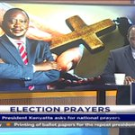 President Kenyatta asks for national prayers