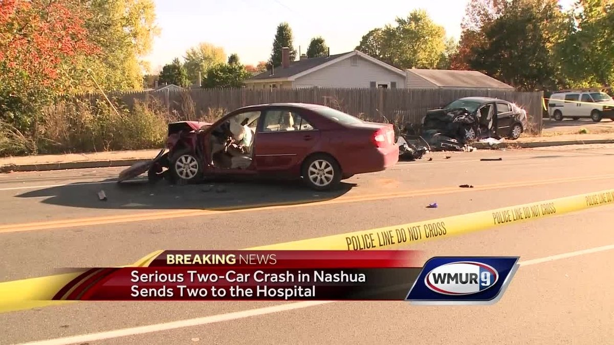 1 killed in serious 2-car crash in Nashua