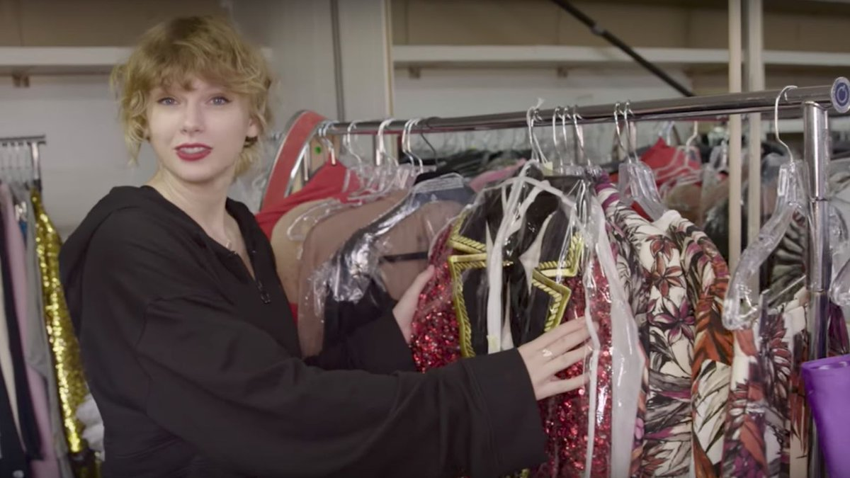 Taylor Swift Invites You Into Her 'Look What You Made Me Do' Closet