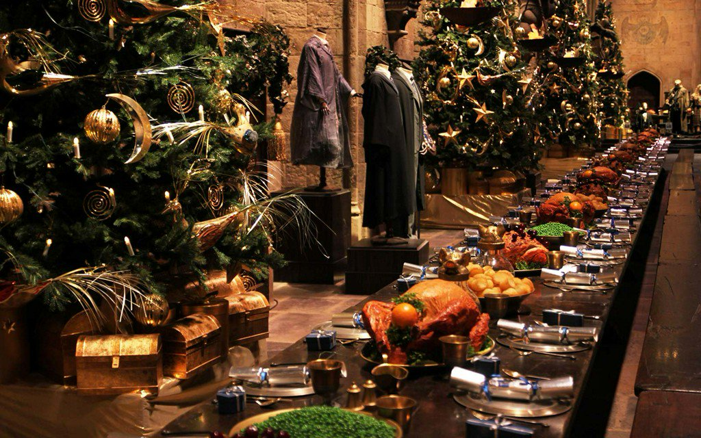 You Can Eat a Christmas Feast and Attend the Yule Ball at the Real-life Hogwarts