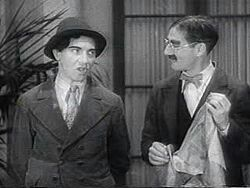 #Groucho: You know what an auction is, eh? #Chico:Sure! I come from Italy on the Atlantic auction #TheCocoanuts 1929 https://t.co/HERWg4doD8