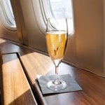 Quebec man sues airline over 'champagne service' that offers ordinary sparkling wine