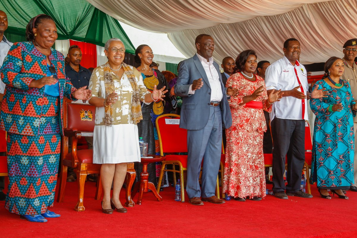 First Lady Margaret Kenyatta campaigns for uhuru