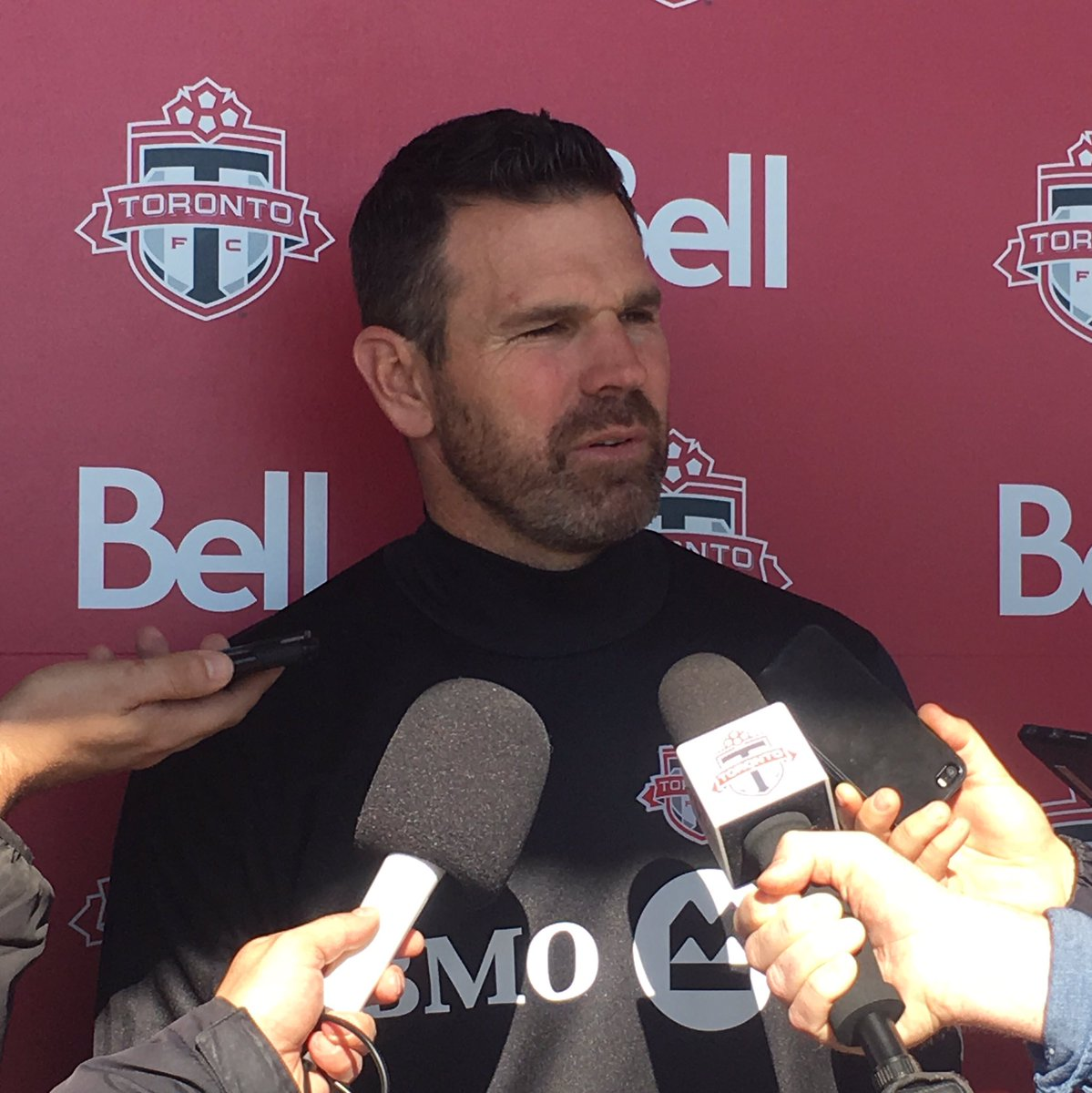 """The [all-time MLS points] record is a byproduct of our performances. This weekend will be no different."" - Greg Vanney  #TFCLive 