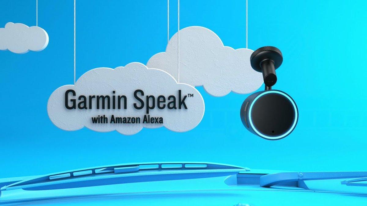 Introducing Garmin Speak™ with Amazon Alexa - Dauer: 63 Sekunden