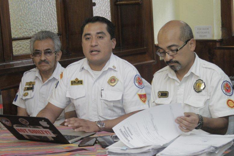 Denuncian actos de corrupción en el Cuerpo de Bomberos Voluntarios
