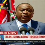 President Uhuru Kenyatta calls for a period of prayer and reconciliation for Kenya
