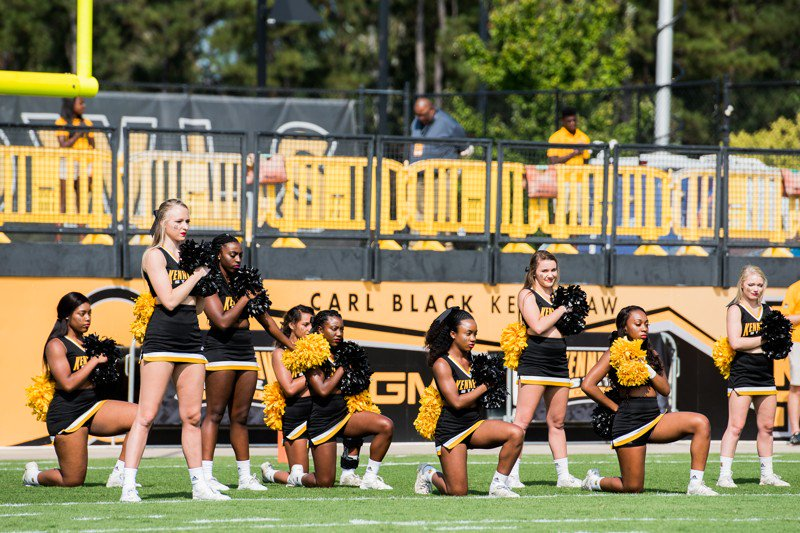 Georgia board to review Kennesaw State's handling of cheerleader protest
