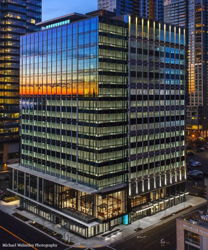 New Amazon-occupied office in Bellevue sells for record price