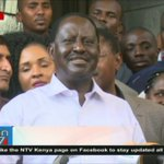 Raila speaks to media after allegedly being detained at Jimi Wanjigi's home