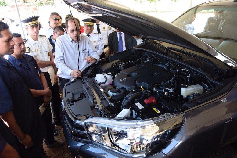 Adquirirán nuevos vehículos para PNC