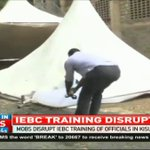 Mobs disrupt IEBC training of officials in Kisumu, Vihiga