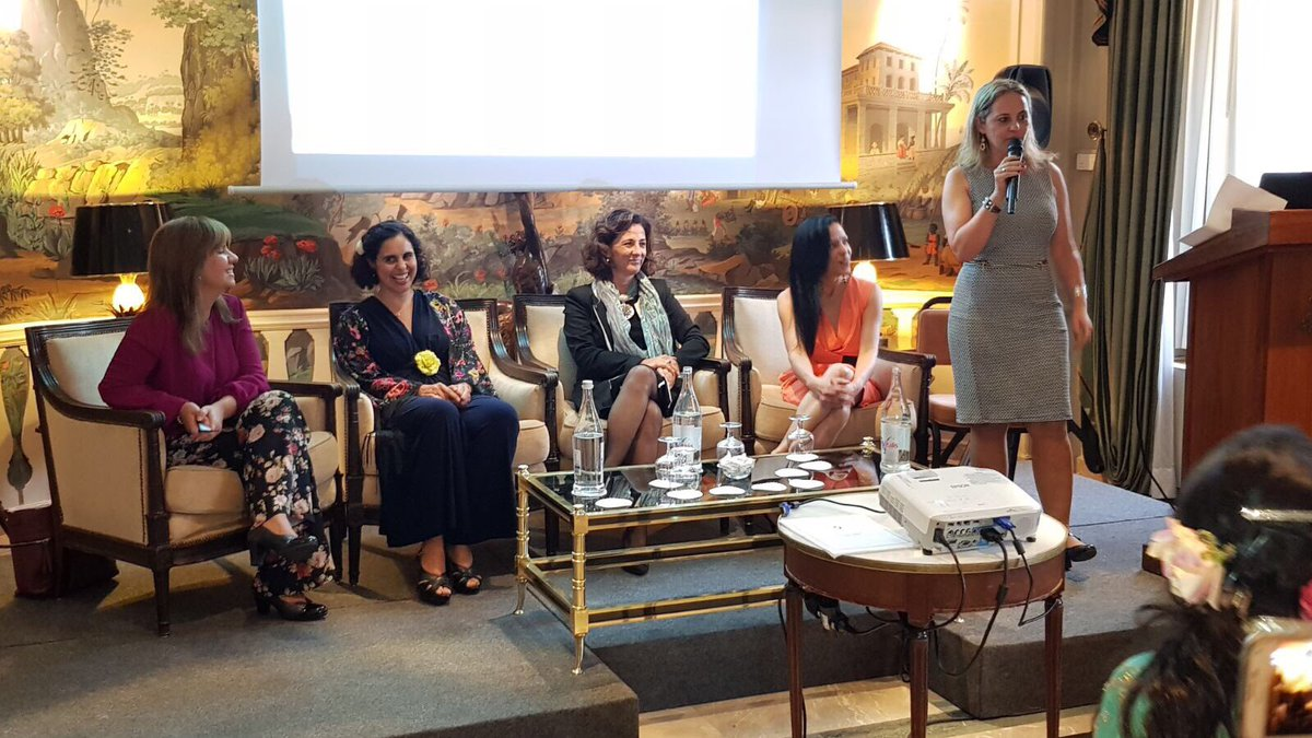 test Twitter Media - Pics from my panel on Global Gender Issues @WEF2017 Portugal conference yesterday. Honored to have been part of this essential discussion. https://t.co/rM4GfEHNgi