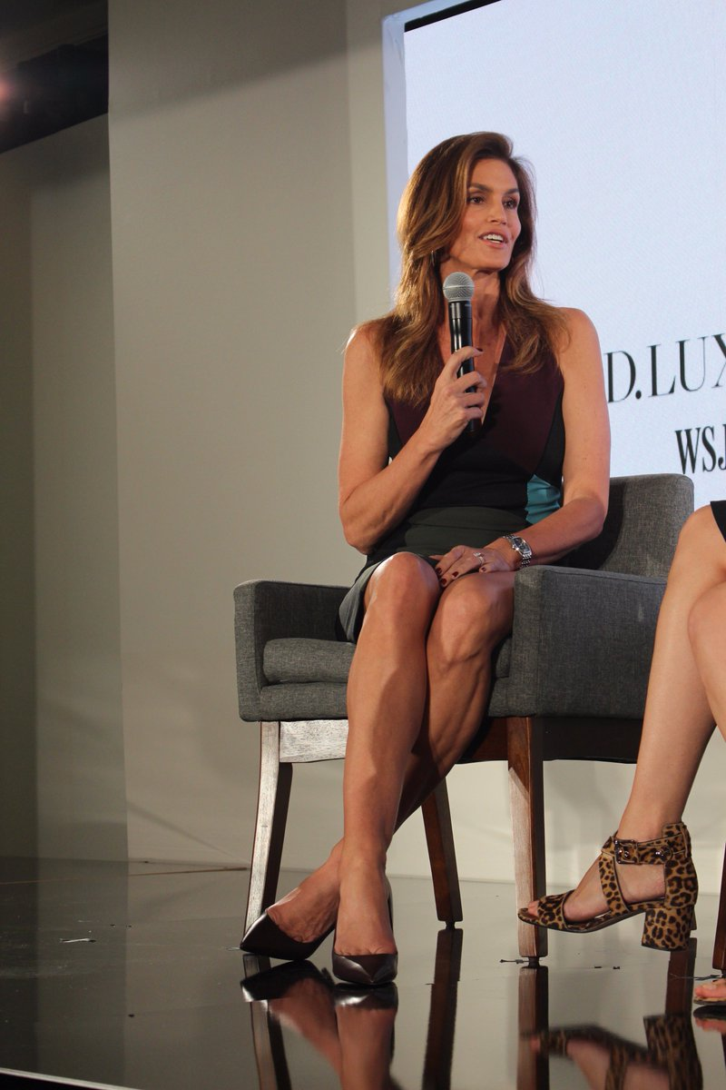 RT @gchapmanpress: Original supermodel Cindy Crawford on the rumor of doing a reality show -