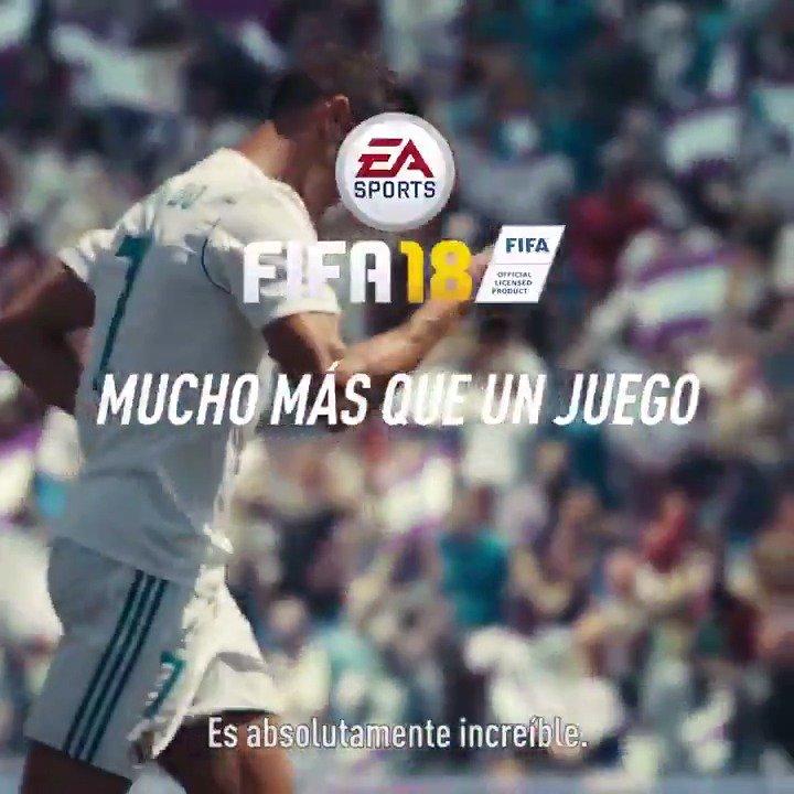 RT @EASPORTSFutbol: FIFA 18. Más que un juego  https://t.co/PV4Kx8knES  #FIFA18 #ElTornado https://t.co/XxXtP14TBR
