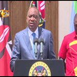 President Kenyatta urges Kenyans to maintain peace ahead of repeat poll