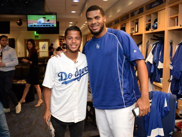 Keep it going! Good luck tonight, @Dodgers!  #ThisIsLA | #ThisTeam https://t.co/2vnK8dRkk6
