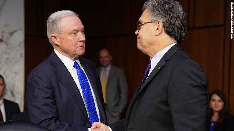 Franken grills Sessions on LGBT record