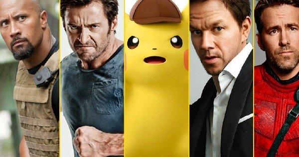 tweet-Legendary apparently wants Dwayne Johnson, Hugh Jackman, Ryan Reynolds, or Mark Wahlberg to voice Detective Pikachu: https://t.co/4bi5q6LgZ1 https://t.co/9MN4wSrsoQ