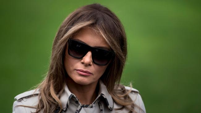 US First Lady Melania Trump accused of 'using a body double' in public appearances