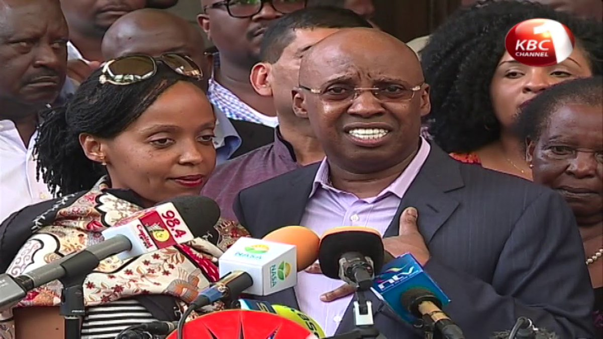 Jimmy Wanjigi alleges politics in the invasion of his home by police
