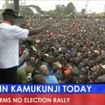 RAILA ODINGA LEADS HISTORIC NASA RALLY