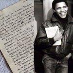 'Dear Alex': Obama's letters to college girlfriend emerge