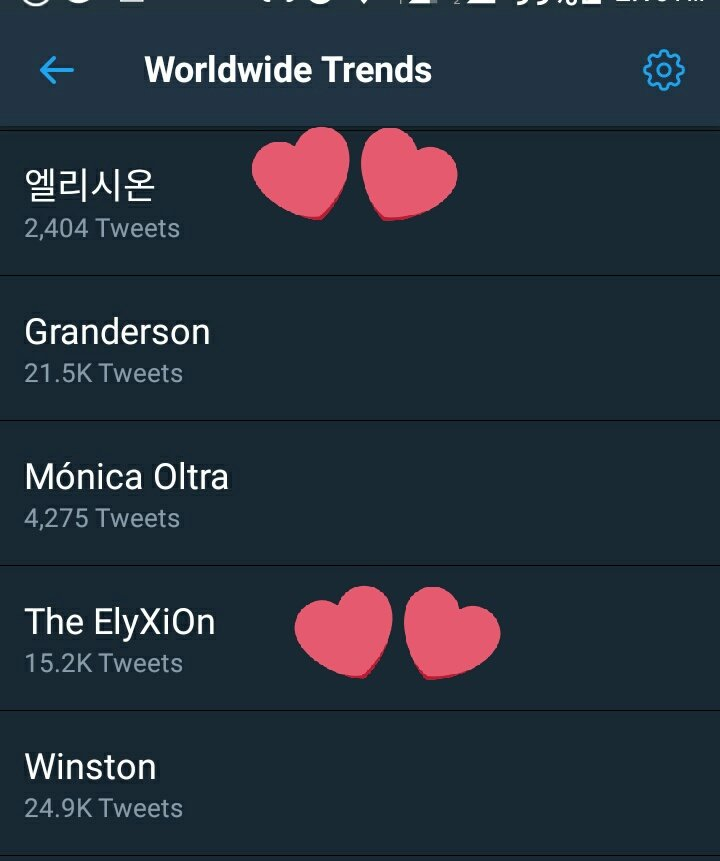 RT @ImEx0L: Already trending WW The name is beautiful. I love it.  #TheEℓyXiOn #EXO @weareoneEXO  엘리시온 https://t.co/CDmMQzQf2j