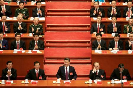 China suggests Xi's political ideology to be elevated in party constitution