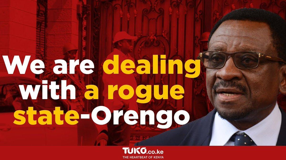 The police disobeyed court order - Orengo