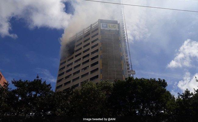 Massive Fire Breaks Out In 19-Floor Building In Kolkata