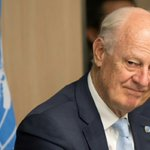 UN Syria envoy in Moscow ahead of peace talks